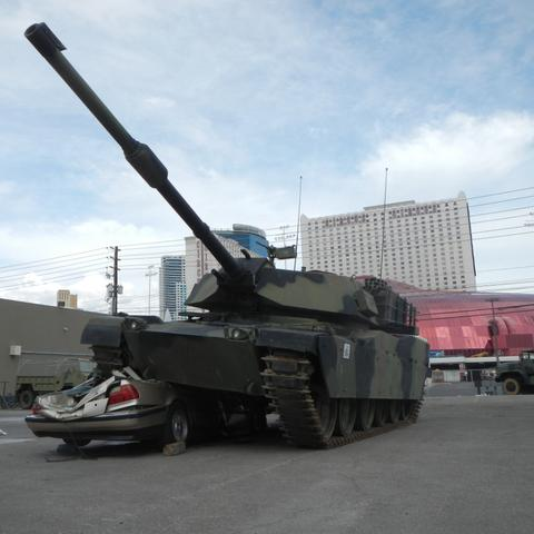 Battlefield Vegas Tank Package