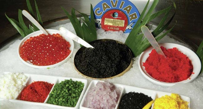 Bellagio Buffet Caviar