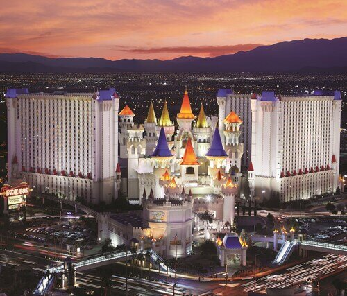 Excalibur Hotel & Casino official hotel website
