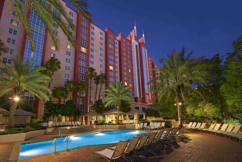 Hilton Grand Vacations at The Flamingo official hotel website