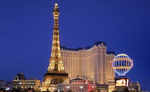 Paris Las Vegas Resort & Casino official hotel website