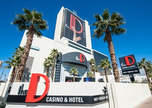 The D Las Vegas official hotel website