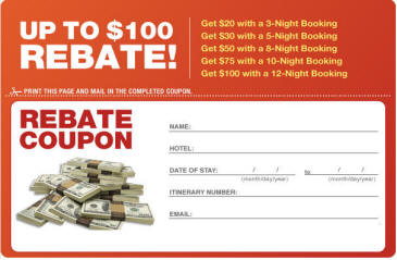 Las Vegas Direct Summer Promotion Rebate Offer