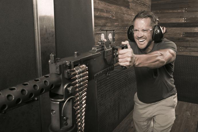 las vegas machine gun shoot