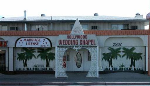 7 A Hollywood Wedding Chapel