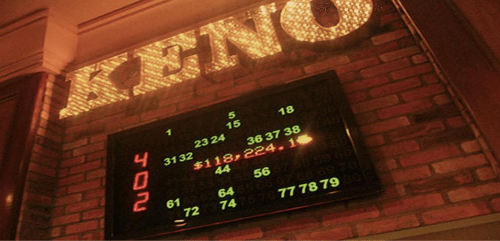 Las Vegas Keno Board