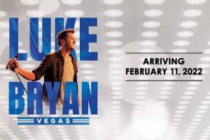 Luke Bryan Las Vegas Residency (Feb 11 - Feb 26, 2022)